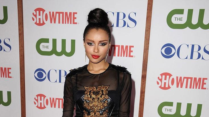 "Kat Graham of ""Vampire Diaries"" attends the CBS, The CW, and Showtime 2011 Summer TCA Party at The Pagoda on August 3, 2011 in Beverly Hills, California."