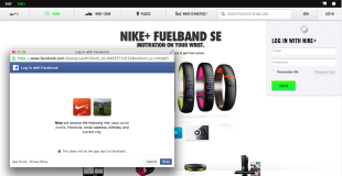 Canvas Fingerprinting: Bad for Your Users and Bad for Your Business image Nike Permission Screen