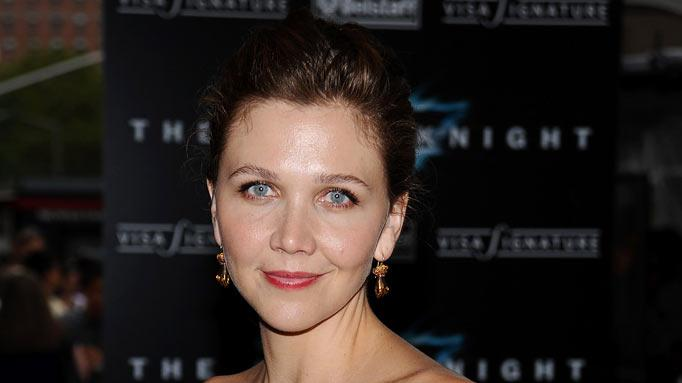 Dark Knight New York 2008 Premiere Maggie Gyllenhaal