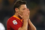 Totti: I was feeling pain in my thigh when I missed crucial chance against AC Milan