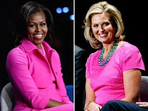 Michelle Obama and Ann Romney: Who Wore Her Pink Debate Look Best?