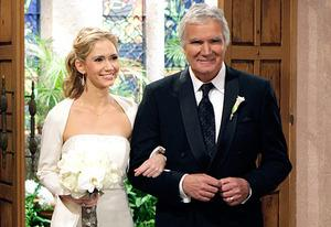 Ashley Jones, John McCook | Photo Credits: Sonja Flemming/CBS