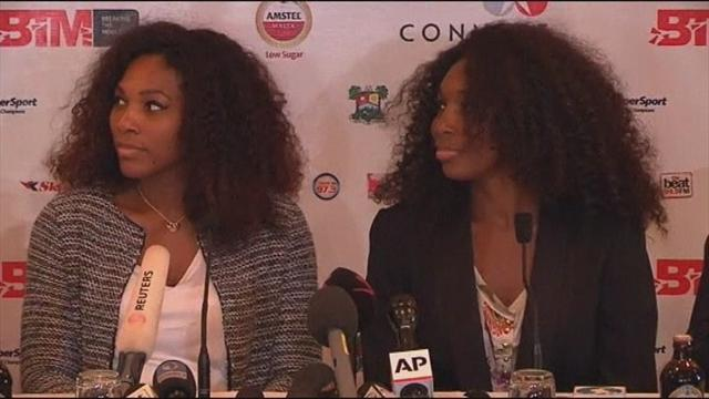 Tennis - Venus and Serena promote tennis in Africa