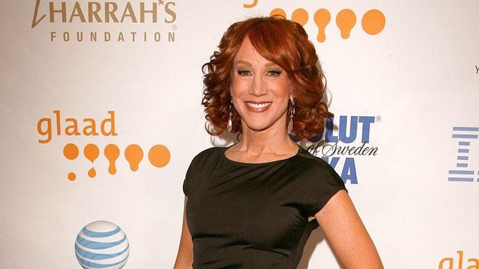 Kathy Griffin during cocktails at the 19th Annual GLAAD Media Awards on April 25, 2008 at the Kodak Theatre in Hollywood, California.