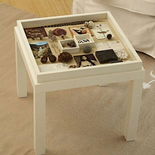 Make a memory box table