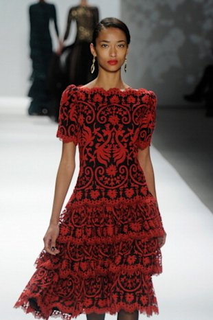 Another stunning dress at Tadashi Shoji
