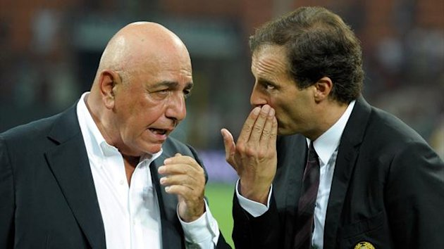 adriano galliani, massimiliano alegri