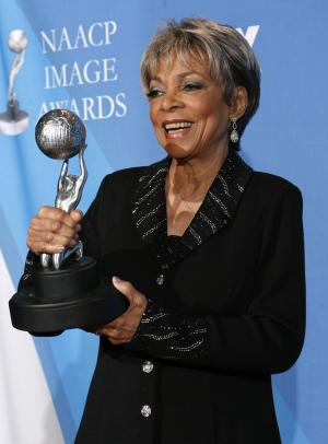 FILE - This Feb. 14, 2008 file photo shows Ruby Dee …