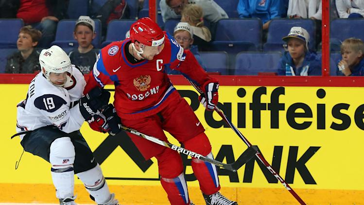 Russia v USA - 2013 IIHF Ice Hockey World Championship Quarterfinals