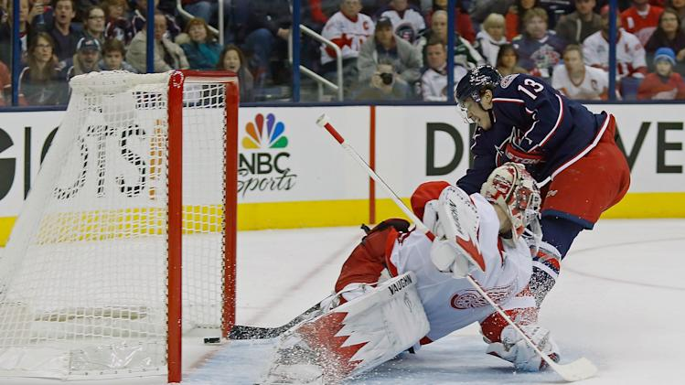 Detroit Red Wings v Columbus Blue Jackets