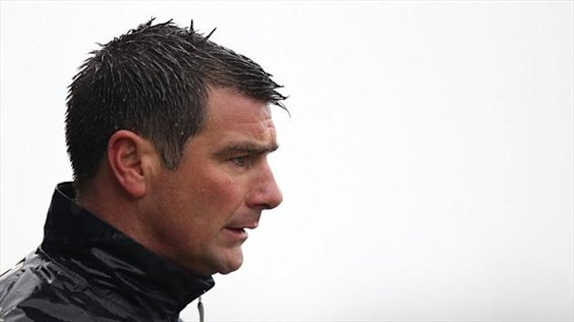 Richie Barker left Crawley last month
