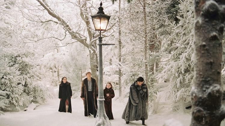 The Chronicles of Narnia The Lion Witch and Wardrobe 2005 Walt Disney Pictures George Henley William Moseley Skandar Keynes
