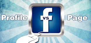 Facebook Profile Or Fan Page — Which Should I Use For My Business? image Profiles vs pages1