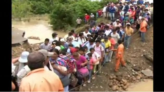 Five dead in Bolivia floods