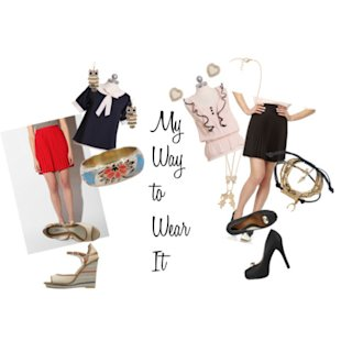 Pleated Skirt: My Way