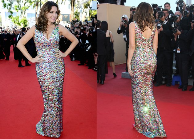 Kelly Brook, Cannes Film Festival, red carpet