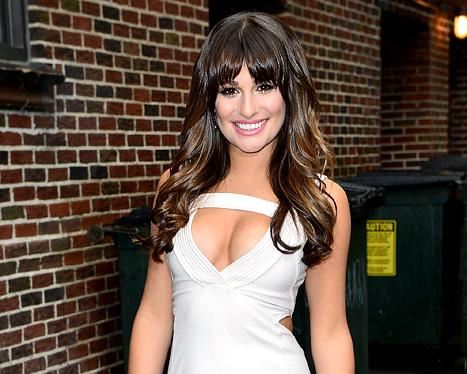 "Lea Michele: Getting Tattooed ""Is a Family Activity"""