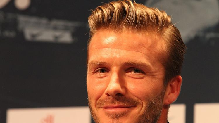 David Beckham Signs For Paris Saint-Germain