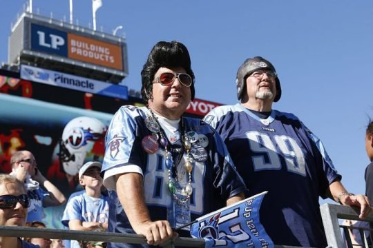 "Get fired up for ""exotic smashmouth"" football, Titans fans. (Photo by Joe Robbins/Getty Images)"