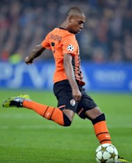 Brazilian Fernandinho in action for Shakhtar Donetsk against Chelsea on October 23, 2012 in the Champions League. Backed by the financial clout of club owner Rinat Akhmetov and inspired by the leadership of Romanian manager Mircea Lucescu, the Brazilians have now made the club a force to be reckoned with in Europe