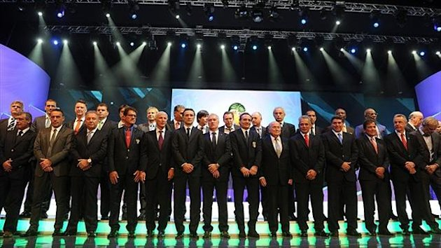 The 32 managers learned the fate of their respective countries in Brazil