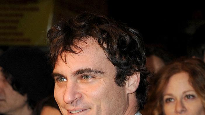 Exit Through the Gift Shop LA premiere 2010 Joaquin Phoenix