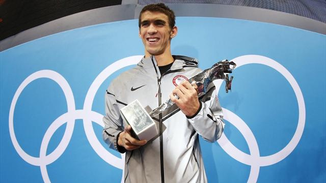 Olympic Games - Phelps quits the pool with unchallenged record