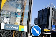 A sign for Telecom New Zealand in Auckland. New Zealand's Telecom Corp booked a seemingly spectacular 600 percent rise in annual net profit Friday, but warned the figure was meaningless as the reporting period included a major demerger