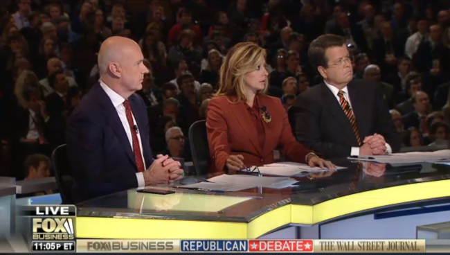 fox moderator bartiromo was booed after citing