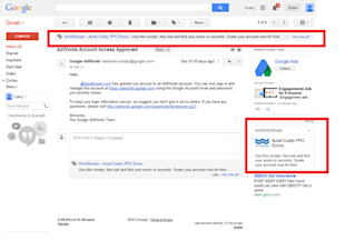 Gmail Advertising Showdown: Gmail Sponsored Promotions vs. Managed Placements image gmail advertising sponsored promotions