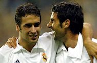 Figo: Raul wanted to retire at Madrid but was forced out