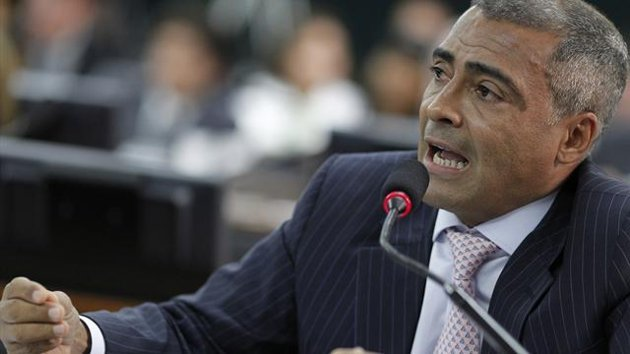 Brazil congressman and former football star Romario