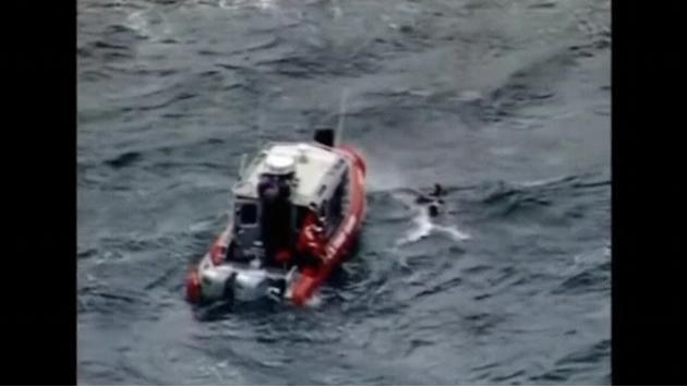 Four people rescued from choppy waters off Seattle