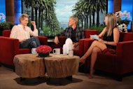 Jennifer Aniston Finds Out About Ellen and Portia's Marriage