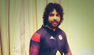 Christopher Spring, Canadian Bobsledder, Shares Wardrobe Malfunction, Powerbelly image Christopher Spring Wardrobe Malfunction