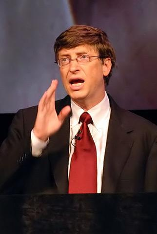 Bill Gates, prince of darkness