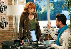 Reba McEntire and Jai Rodriguez | Photo Credits: Karen Neal/ABC