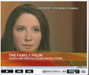 Bristol Palin segment on FOX News