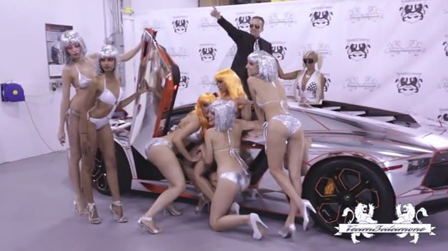 Team Salamone prepares for the Gumball 300