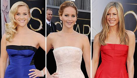 Reese Witherspoon, Jennifer Lawrence, Jennifer Aniston
