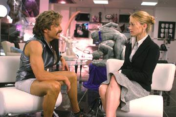 Ben Stiller and Christine Taylor in 20th Century Fox's Dodgeball: A True Underdog Story