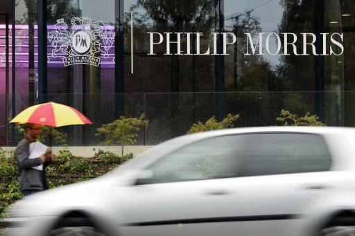 File photo shows of Philip Morris Int'l headquarters in Lausanne, pictured in 2007