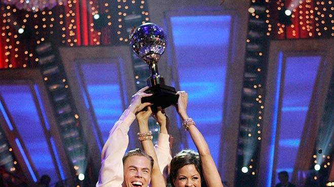 Hough Burke DWTS Win