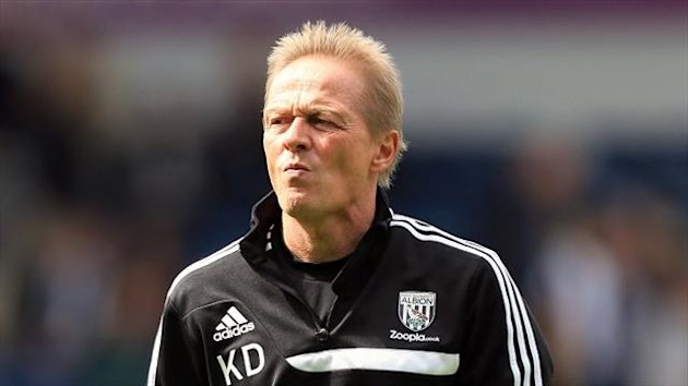 Keith Downing is in caretaker charge of West Brom