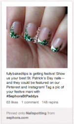 How Brands Use St. Patrick's Day in Their Pinterest Marketing Plan image Screen Shot 2013 03 15 at 3.41.47 PM1 180x300