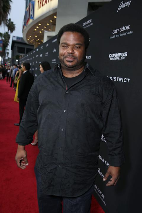 Craig Robinson at Premiere of 'Olympus Has Fallen'