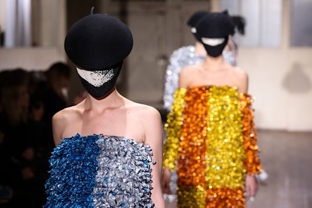 Couture Fashion Week: Maison Martin Margiela's Spring 2013 Collection