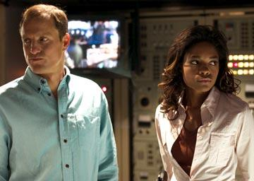Woody Harrelson and Naomie Harris in New Line Cinema's After the Sunset