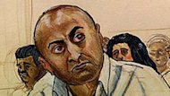 Mukhtiar Panghali, seen here in a court sketch, was sentenced to life in prison last year.