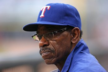 Rangers manager Ron Washington wouldn't mind it at all if Darvish came back to pitch this season. (Getty)